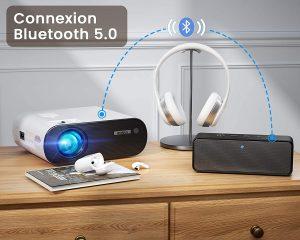 vidéoprojecteur wifi Bluetooth